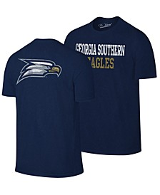 Men's Georgia Southern Eagles Team Stacked Dual Blend T-Shirt
