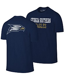 Retro Brand Men's Georgia Southern Eagles Team Stacked Dual Blend T-Shirt