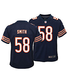 Nike Roquan Smith Chicago Bears Game Jersey, Big Boys (8-20)
