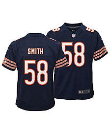 Nike Roquan Smith Chicago Bears Game Jersey, Big Boys (8-20)