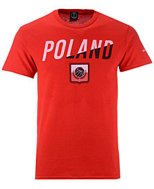 Fifth Sun Men's Poland National Team Gym Wedge World Cup T-Shirt