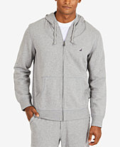 929e6cb5646 Nautica Men s Anchor Fleece Full-Zip Hoodie