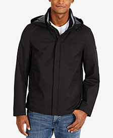 Nautica Men's Men's Waterproof Hooded Bomber Jacket