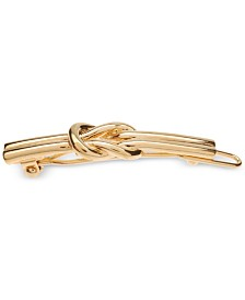 France Luxe Nautical Knot Tige Boule Hair Clip