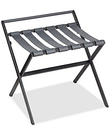 Black Powder-Coated Luggage Rack