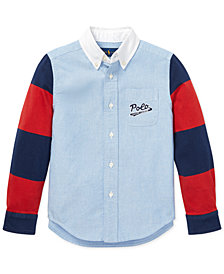 Polo Ralph Lauren Toddler Boys Cotton Oxford Shirt