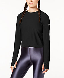 Nike Miler Long-Sleeve Running Top