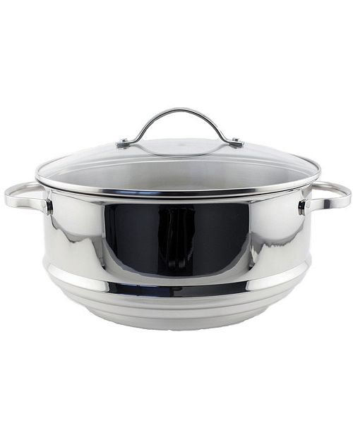 BergHoff CooknCo Stainless Steel 2-Pc. Multi-Size Steamer Set