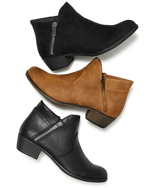 1c0f7aebad6 Abby Ankle Booties, Created for Macy's