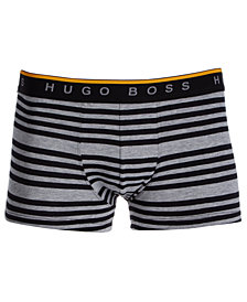 BOSS Men's Stretch Striped Trunks