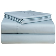 Solid 4-Pc.Queen Extra Deep Sheet Set, 500 Thread Count Cotton Sateen