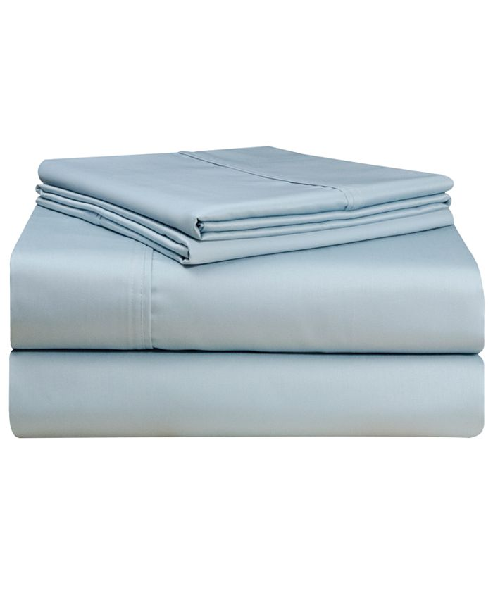 Pointehaven - 500 Thread Count Deep Fitted Sheet Set - Queen