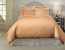 Pointehaven Solid 3-Pc. Full/Queen Duvet Set, 620 Thread Count Cotton