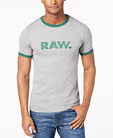 G-Star RAW Men's RAW Sustainable Organic Slim Fit T-Shirt, Created for Macy's