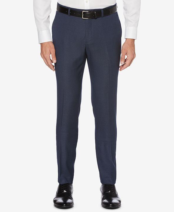 Perry Ellis Men's Portfolio Skinny-Fit Nailshead Dress Pants
