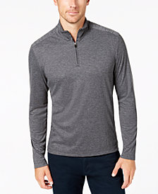 Alfani Men's Quarter-Zip Stretch Pullover, Created for Macy's