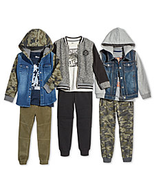 Epic Threads Little Boys Varsity Jackets, Hoodies, T-Shirts & Jogger Pants, Created for Macy's