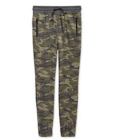 Epic Threads Big Boys Camo-Print Jogger Pants, Created for Macy's