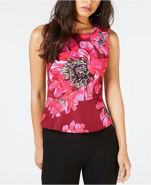 53f1781c3da7b Trina Turk Printed Floral Top - Tops - Women - Macy s