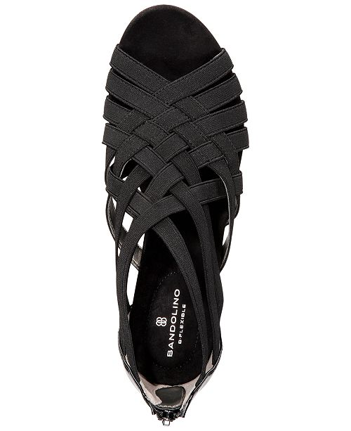 92a97d462d Bandolino Gillmiro Strappy Wedge Sandals & Reviews - Sandals & Flip ...