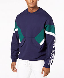 Love Moschino Men's Colorblocked Logo Sweatshirt