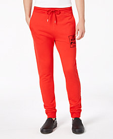 Love Moschino Men's Fleece Jogger Pants