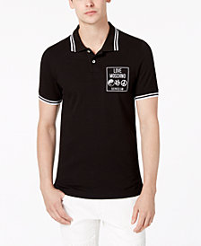 Love Moschino Men's Slim-Fit Polo