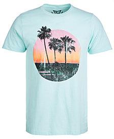 Men's Gold Sunset Graphic T-Shirt