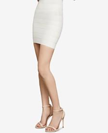 BCBGMAXAZRIA Pull-On Bandage Skirt