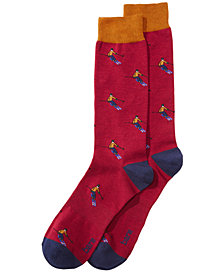 Bar III Men's Skier Socks, Created for Macy's