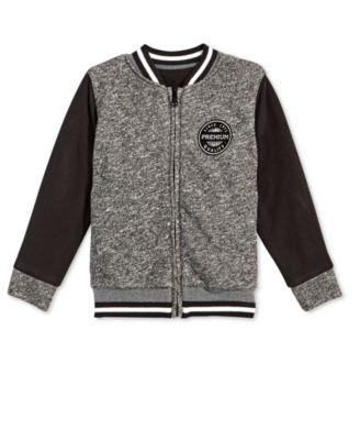 Little Boys Varsity Jacket, Created for Macy's