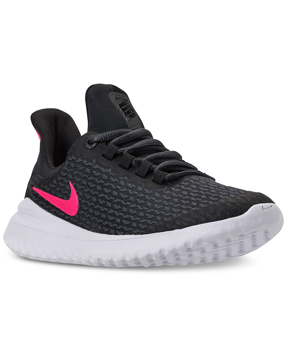 Nike Girls  Renew Rival Running Sneakers from Finish Line   Reviews -  Finish Line Athletic Shoes - Kids - Macy s 05a8daef4