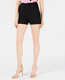 Bar III Ruffle-Trim Pull-On Shorts, Created for Macy's