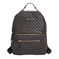Tommy Hilfiger Alva Quilted Backpack (Black/Gold)