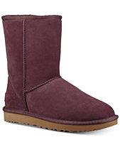 Ugg Women S Clic Ii Genuine Shearling Lined Short Boots
