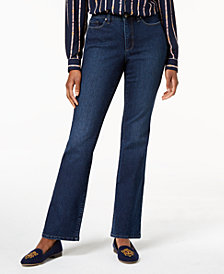 Charter Club Petite Dark Wash Bootcut Jeans Created for Macy's