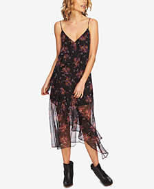 1.STATE Ruffled Slip Dress