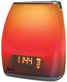 iHome Zenergy Bedside Sleep Sound & Light Alarm Clock