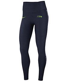 Nike Women's Seattle Seahawks Core Power Tight Leggings