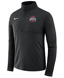 Nike Men's Ohio State Buckeyes Element Quarter-Zip Pullover