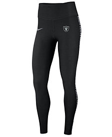Nike Women's Oakland Raiders Core Power Tight Leggings