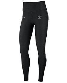 Nike Women's Oakland Raiders Core Power Tight Leggings