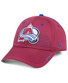Authentic NHL Headwear Colorado Avalanche Draft Structured Flex Cap