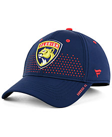 Authentic NHL Headwear Florida Panthers Draft Structured Flex Cap