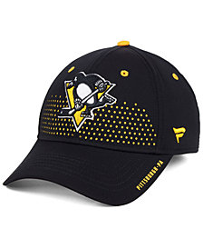 Authentic NHL Headwear Pittsburgh Penguins Draft Structured Flex Cap