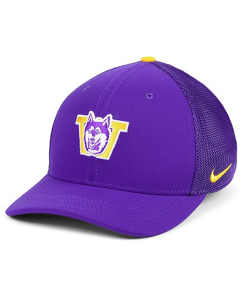 huge selection of f0577 cb591 ... Nike Washington Huskies Col Aro Swooshflex Cap ...