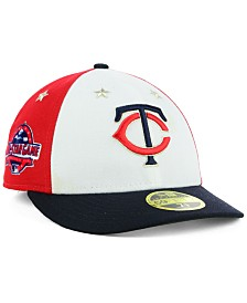 7a5815f05b4 New Era Minnesota Twins All Star Game Patch Low Profile 59FIFTY Fitted Cap  2018