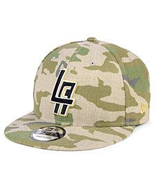 New Era Los Angeles Clippers Combo Camo 9FIFTY Snapback Cap