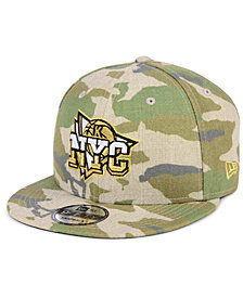 New Era New York Knicks Combo Camo 9FIFTY Snapback Cap