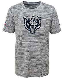 Nike Chicago Bears Velocity Legend Travel T-Shirt, Big Boys (8-20)